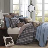 Woolrich Hadley Plaid Comforter Set, King, Multicolor by