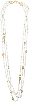 Goossens Beaded Pearl Necklace