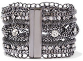 New York & Co. Sparkling Mesh Cuff Bracelet
