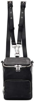 McQ Black Mini Loveless Convertible Backpack