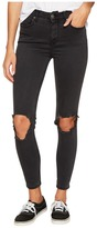 Free People High-Rise Busted Skinny in Carbon Women's Jeans