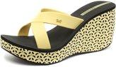 Ipanema Cruise Wedge Womens Flip Flops / Sandals - Yellow Black-7