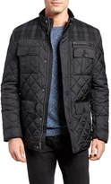 Cole Haan Men's Mixed Media Quilted Jacket