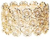 Charlotte Russe Embellished Floral Stretch Bracelet