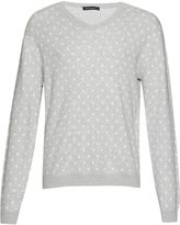 French Connection Men's Callisto Dot Knits Sweater