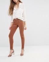 J Brand Miranda Skinny Pants With Zips