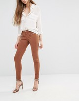 J Brand Miranda Skinny Trousers With Zips