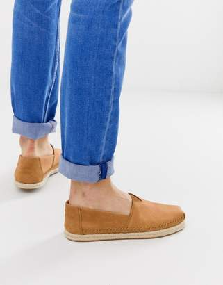 Toms espadrilles in tan leather
