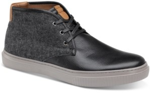 Johnston & Murphy Men's Toliver Leather & Wool Chukka Sneakers Men's Shoes