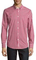 Ben Sherman Gingham Classic Fit Checked Button-Down Shirt
