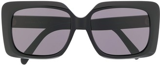 Celine Rectangular Frame Sunglasses