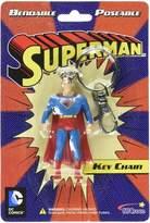 NJ Croce Animated Classic Superman Bendable Character Hanging Keychain Charm