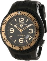 Swiss Legend Men's 11819A-BB-01-GB-W Neptune Automatic Dial Silicone Watch