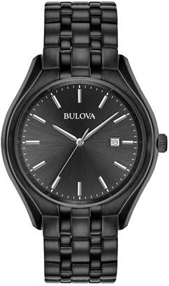 Bulova Dress Collection Classic Black Stainless Steel Watch