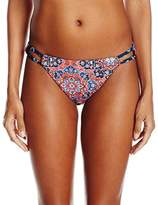 Lucky Brand Women's Festival Medallion Hipster Bikini Bottom