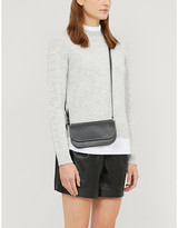 Ted Baker Lissiah ruffle-neck knitted jumper