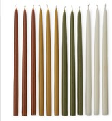 Williams-Sonoma Williams Sonoma Fall Colored Tiny Taper Candles, Warm