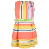 Oilily OililyGirls Multi-Colour Striped Duffalo Dress