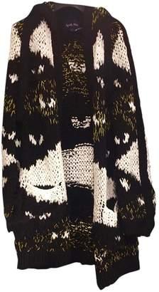 April May Black Cotton Knitwear for Women