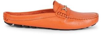 Saks Fifth Avenue Slip-On Leather Mules