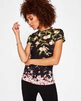Ted Baker Peach Blossom fitted Tshirt