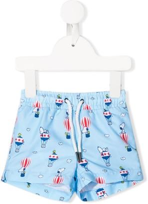 Trunks Sunuva Kids Snoopy swim shorts