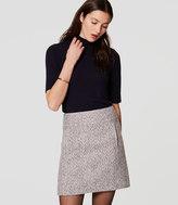 LOFT Petite Tweed Pocket Skirt