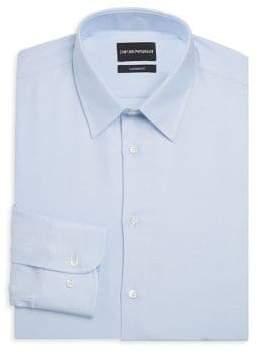 Emporio Armani Modern Fit Tonal Dot Dress Shirt