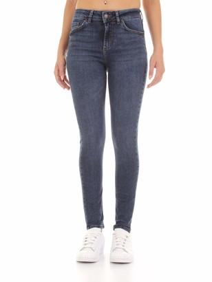 Vero Moda Women's Vmlux Nw Super Slim Jeans Ba387 Noos Ga