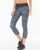Soma Intimates Diamond Mesh Zip Pocket Sport Capri Pants
