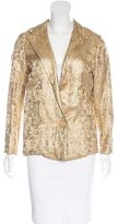 Lanvin Silk Brocade Blazer w/ Tags
