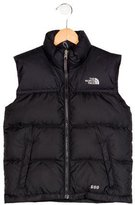 The North Face Boys' Nuptse Down Vest