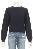 Frame Le Cropped Ribbed Sweater