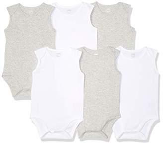 Amazon Essentials 6-Pack Sleeveless Bodysuits Layette Set