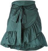 Isabel Marant Aurora mini skirt - women - Polyamide/Silk - 36
