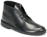 Clarks DESERT BOOT men's Mid Boots in Black