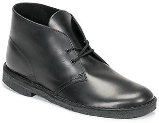 Clarks DESERT BOOT men's Mid Boots in Black