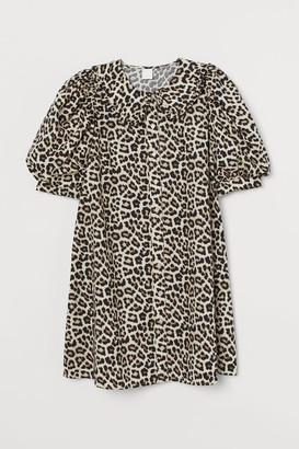 H&M Collared Dress - Beige