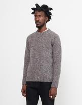 Barbour Netherby Crew Neck Jumper Grey
