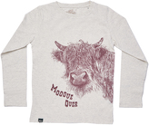 Marie Chantal Marie-Chantal Moove Over Cow Long Sleeve T-Shirt - Lions of Leisure