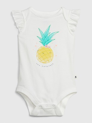 Gap Baby Mix and Match Pineapple Bodysuit