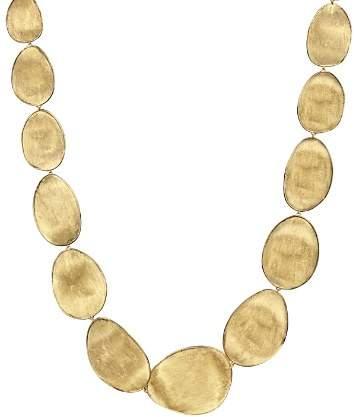 "Marco Bicego 18K Yellow Gold Lunaria Collar Necklace, 18.5"""