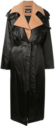 Boutique Moschino Layered-Effect Trench Coat