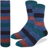 Good Luck Sock Men's Striped Comfort Socks