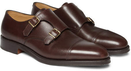 John Lobb William Leather Monk-Strap Shoes - Brown