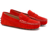 Tod's Kids - Gommino driving loafers - kids - Leather/Suede/rubber - 26