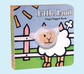 Pottery Barn Kids Little Lamb Finger Puppet Book