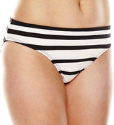 Liz Claiborne Chelsea Stripe Hipster Swim Bottom