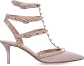 Valentino So noir patent-leather heeled sandals
