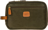 Bric's Life Wash Bag - Olive/Tan